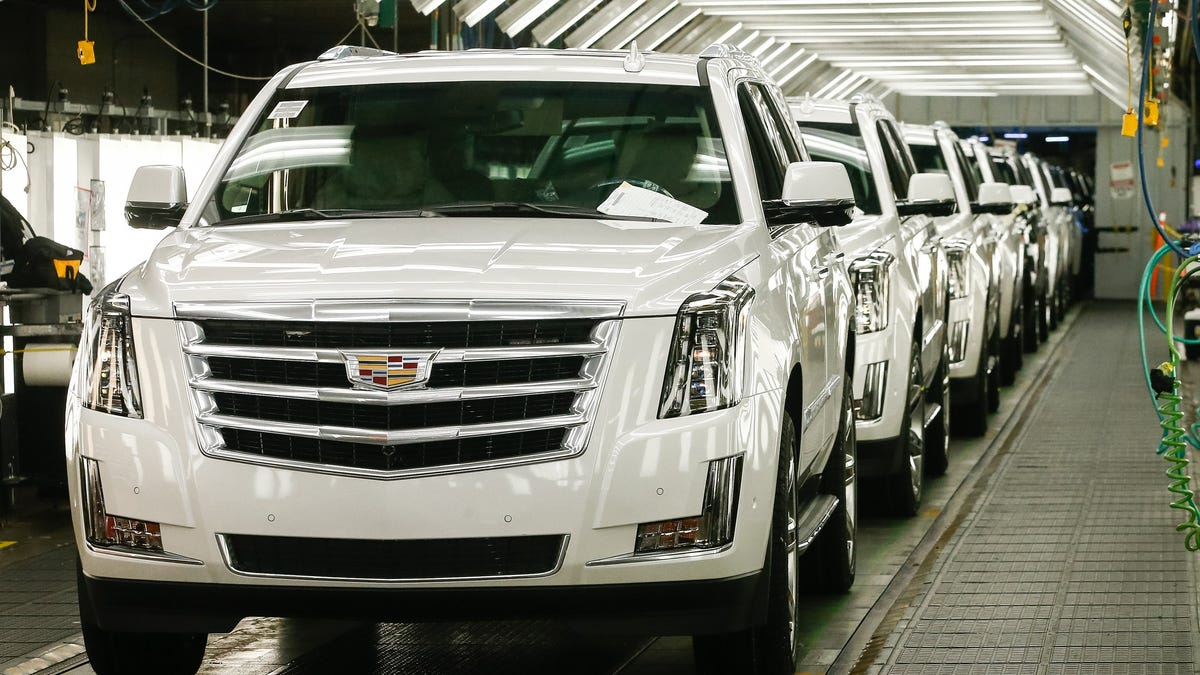 GM to restart full-size SUV production, bring back most its workforce