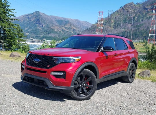 The 2020 Ford Explorer adds an ST version for the first time, replacing the Sport model. The ST makes 400 horsepower from its twin-turbo V-6 and is a blast to drive fast.