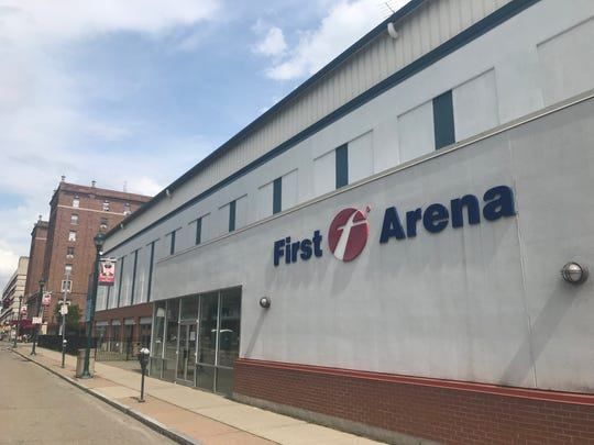 The First Transit Arena in Downtown Elmira has been a long-running headache for city and county officials.