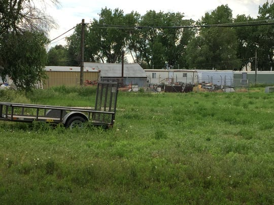 Land at 1311 N. College Ave., behind Carniceria las Delicias could be part of a future campus for homeless services.