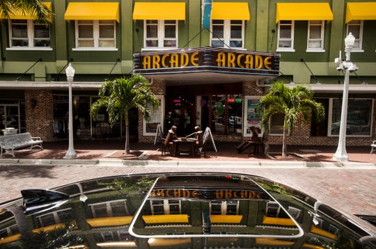 The Bradford block in downtown Fort Myers, which includes the Arcade Theatre, was sold to Florida Repertory Theatre on Monday for $15 million.
