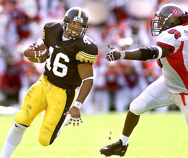 Ladell Betts is a native of Blue Springs, Missouri, and was a four-year running back for the Hawkeyes from 1998 through 2001.