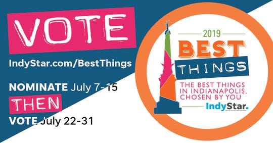 Best Things Indianapolis 2019 - Facebook banner