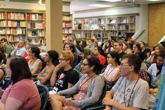 The audience at BTL's 2018 summer faculty reading.
