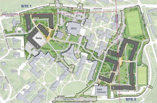 Cornell's North Campus Residential Expansion presented it's final site plans and materials.