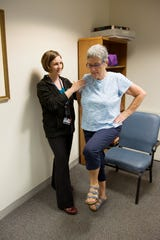 Helping seniors improve balance and strength.