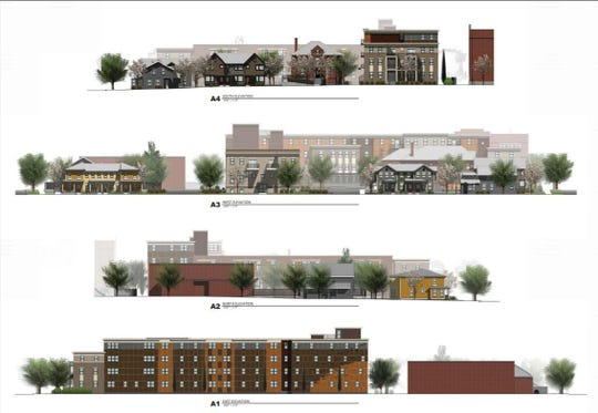 Immaculate Conception redevelopment proposed elevations.