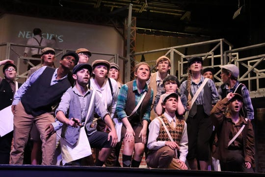 "Chester Co. High was nominated for seven awards, winning outstanding large ensemble for its production of Disney's ""Newsies."""