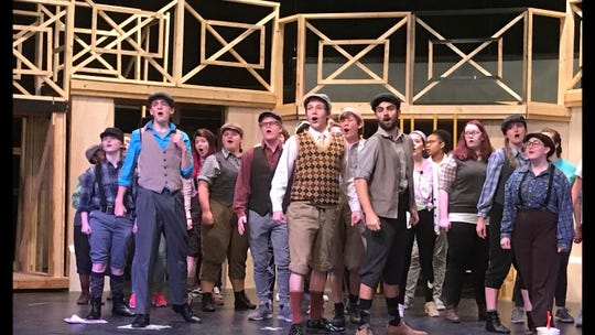 "With 80 cast members, Chester Co. High School produced Disney's ""Newsies,"" which won outstanding large ensemble at the Orpheum High School Musical Theatre Awards"