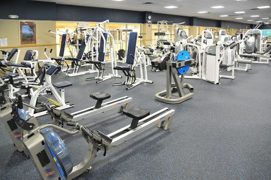 Tennova's North Knoxville fitness facility can accommodate a variety of workouts.