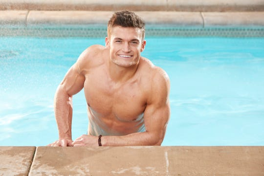 "Former UT student Jackson Michie poses for a photo while starring as a houseguest on ""Big Brother."""