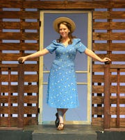 "Deanna Surber stars as Alice Murphy in The WordPlayers' production of ""Bright Star."""