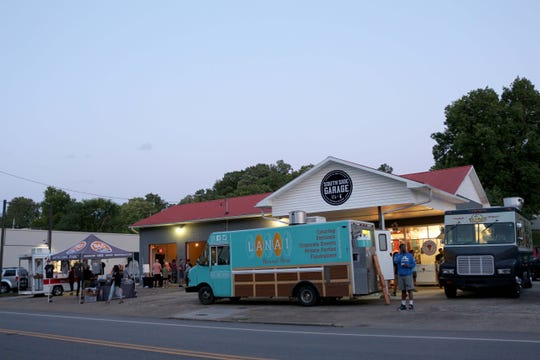 Southside Garage, a food truck park on Sevier Avenue, held its grand opening on June 13.