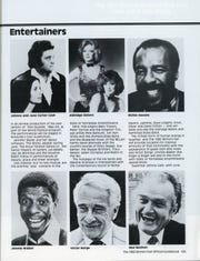 Johnny and June Carter Cash, Jimmie Walker and Red Skelton were performers at the 1982 World's Fair.