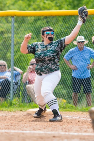Avery Wolverton is a two-time all-state first baseman for Howell.