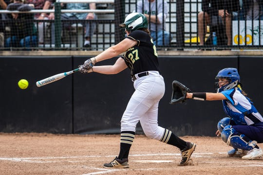 Howell's Maddie Gillett matched her school record with 65 RBI this season.