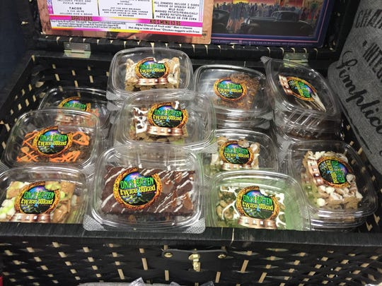 Marijuana edibles are popular products sold at licensed dispensaries in the Lansing area.