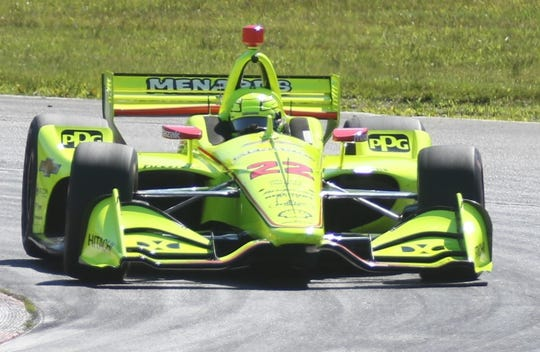 GALLERY: IndyCar Test Day at Mid-Ohio Sports Car Course