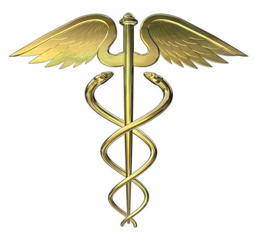 Health care caduceus