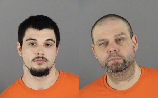 Timothy Owen Jr. (left) and Timothy Owen Sr. were charged with dealing Xanax in Oconomowoc.