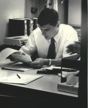 Daniel D. Blinka in 1984, when he was an  assistant district attorney in Milwaukee.