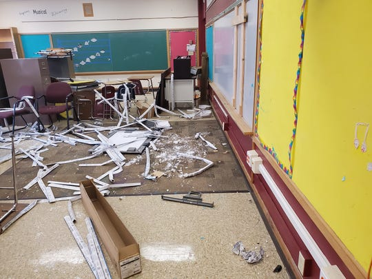 Muskego police say seven teens have been cited in connection with acts of vandalism at Muskego Elementary School.