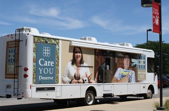 Open Door Health Services' mobile unit