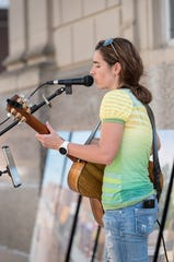 Krista Hoose will return to share music at June's Fourth Friday event happening in Downtown New Castle 5:30-8:30  June 28, 2019.