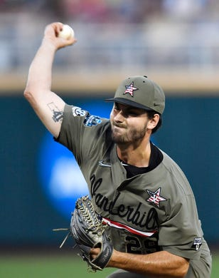 College World Series: Vanderbilt baseball pitcher Patrick
