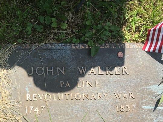 John Walker's grave