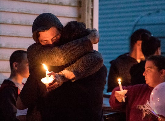 More than 300 people came to honor the life of Isabella Barnes who was gunned down last Friday while sitting on her front porch. Isabella was only 12 years old.
