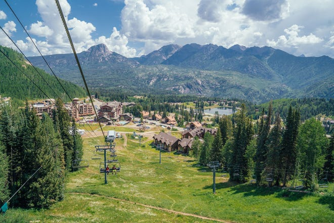 The Alpine Side and Air Bag Jump are now open for the summer at Purgatory Resort, just north of Durango.