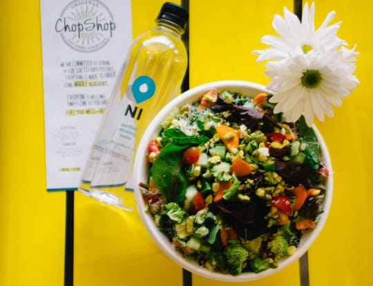 The Original Chop Shop was the first restaurant to participate in Neighborhood Initiatives' bottled water program.