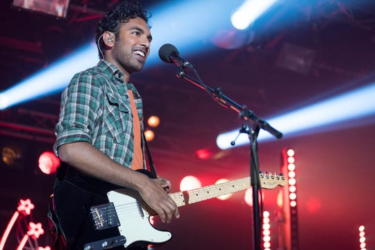 "Jack (Himesh Patel) is suddenly a pop star in ""Yesterday."""