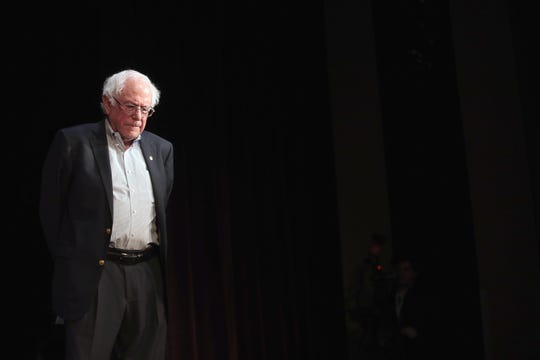 Bernie Sanders, aspirante a la candidatura presidencial por el partido demócrata.