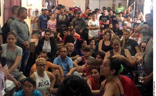 Los albergues de migrantes en Tamaulipas se encuentran a tope.