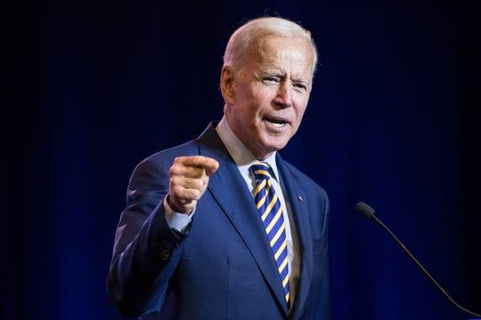 Joe Biden, aspirante a la candidatura presidencial por el partido demócrata.
