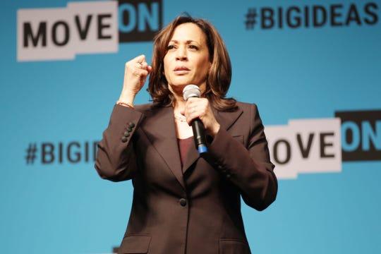 Kamala Harris, aspirante a la candidatura presidencial por el partido demócrata.