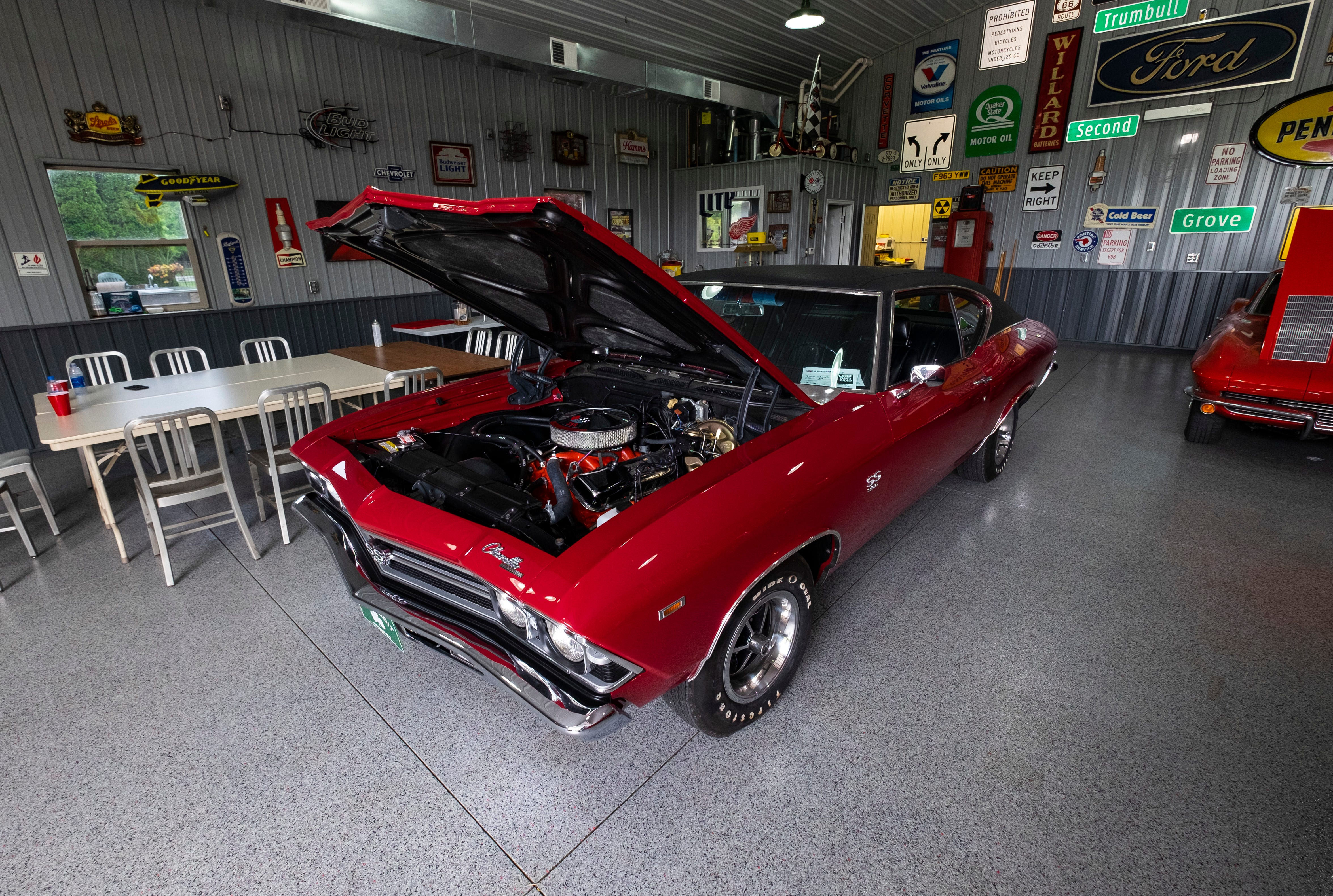 Photos: East Detroit High School student restores 1969 Chevelle with