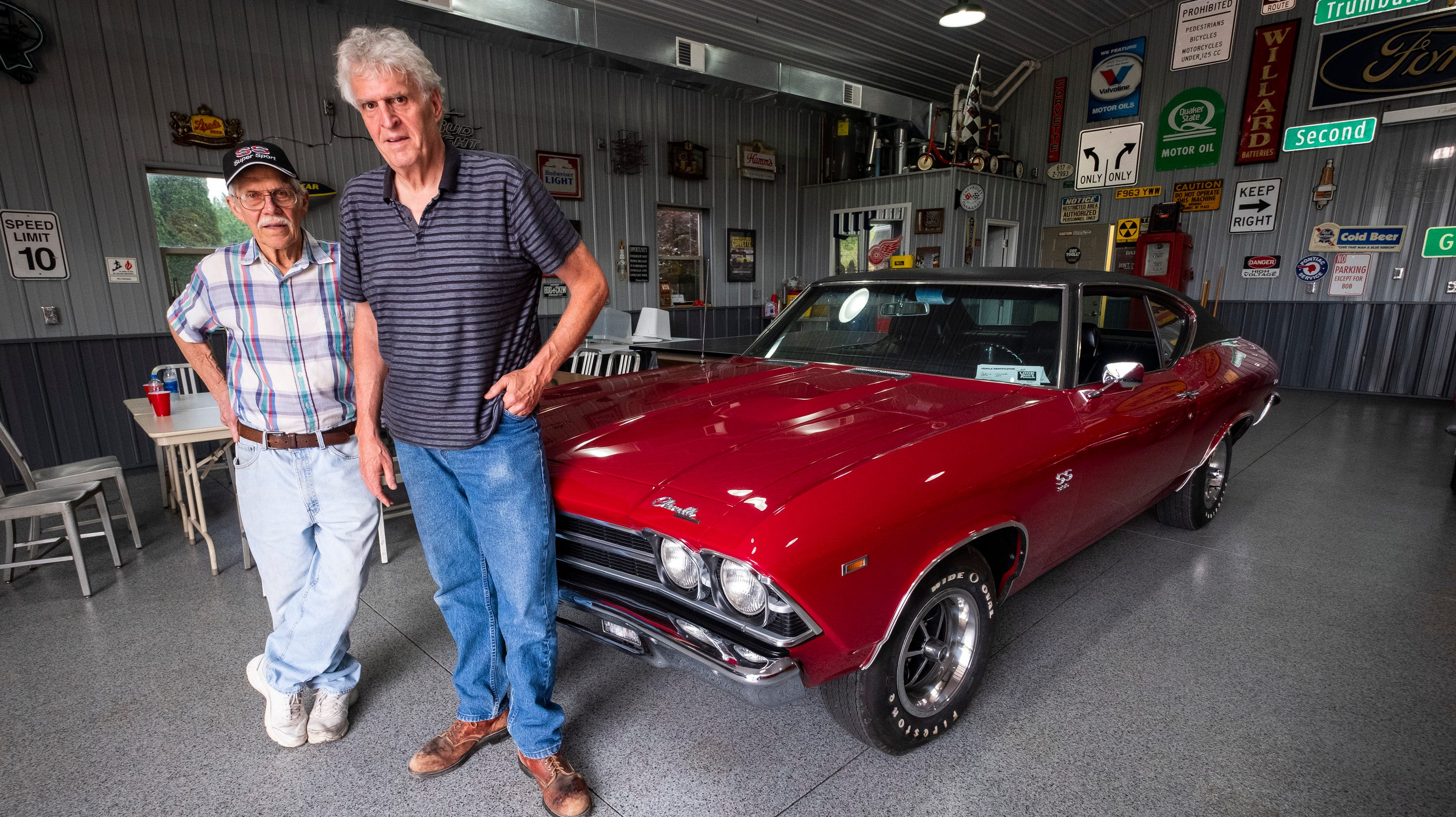 69 Chevelle embodies legacy of Detroit industrial arts class