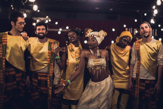 Local neo-soul music collective Lady Moon and The Eclipse will perform at the Spiegeltent as part of Bard's SummerScape.