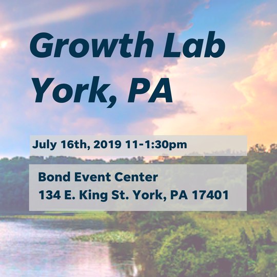 The Growth Lab is coming to Central Pennsylvania.