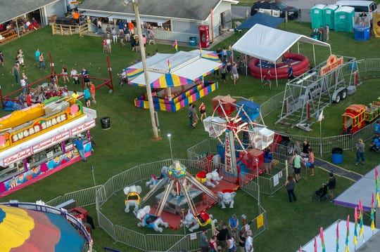 The Shrewsbury Fireman's Carnival runs June 24-29 and offers rides, games, food, music and other vendors. The fair opens at 5:30 p.m. daily.