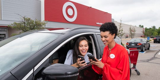 Target now offers pickup of goods at its stores in central Pennsylvania.