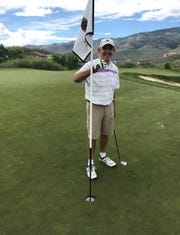 Jim Baker of Reno made a hole-in-one two days in a row this month.