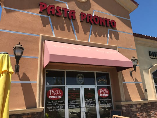 Pasta Pronto is moving from the Hilltop Landing shopping center to downtown Redding.