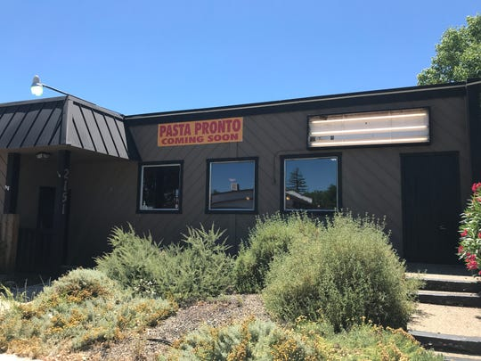 Pasta Pronto's new location is the old Kahunas Mongolian BBQ on Market Street.