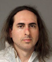 This June 28, 2018, file photo provided by the Anne Arundel Police shows Jarrod Ramos in Annapolis.