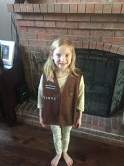 Layla Tackett is in Troop 71652 in Republic.