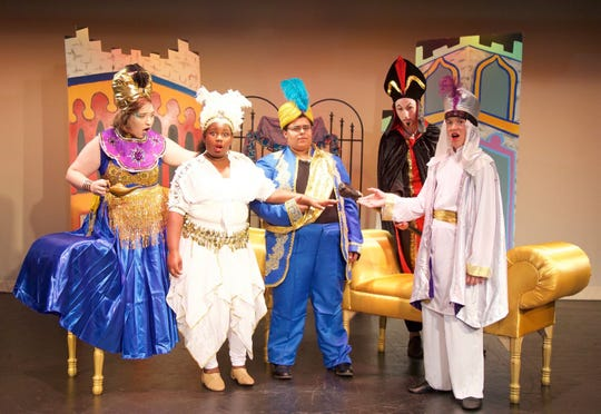 Thomasville On Stage and Co. presents Aladdin, JR. this weekend at the Storefront Theater in Thomasville.